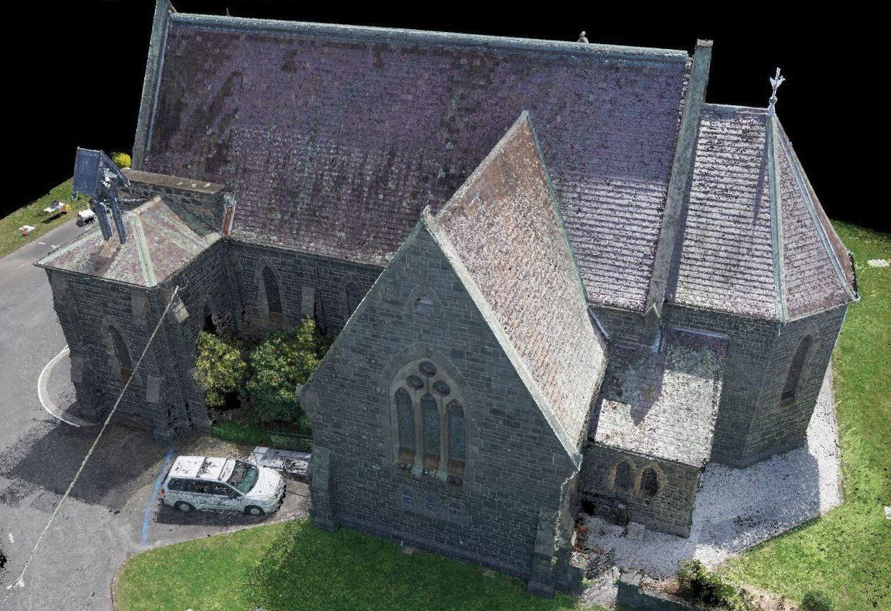 3D-modell, kirke